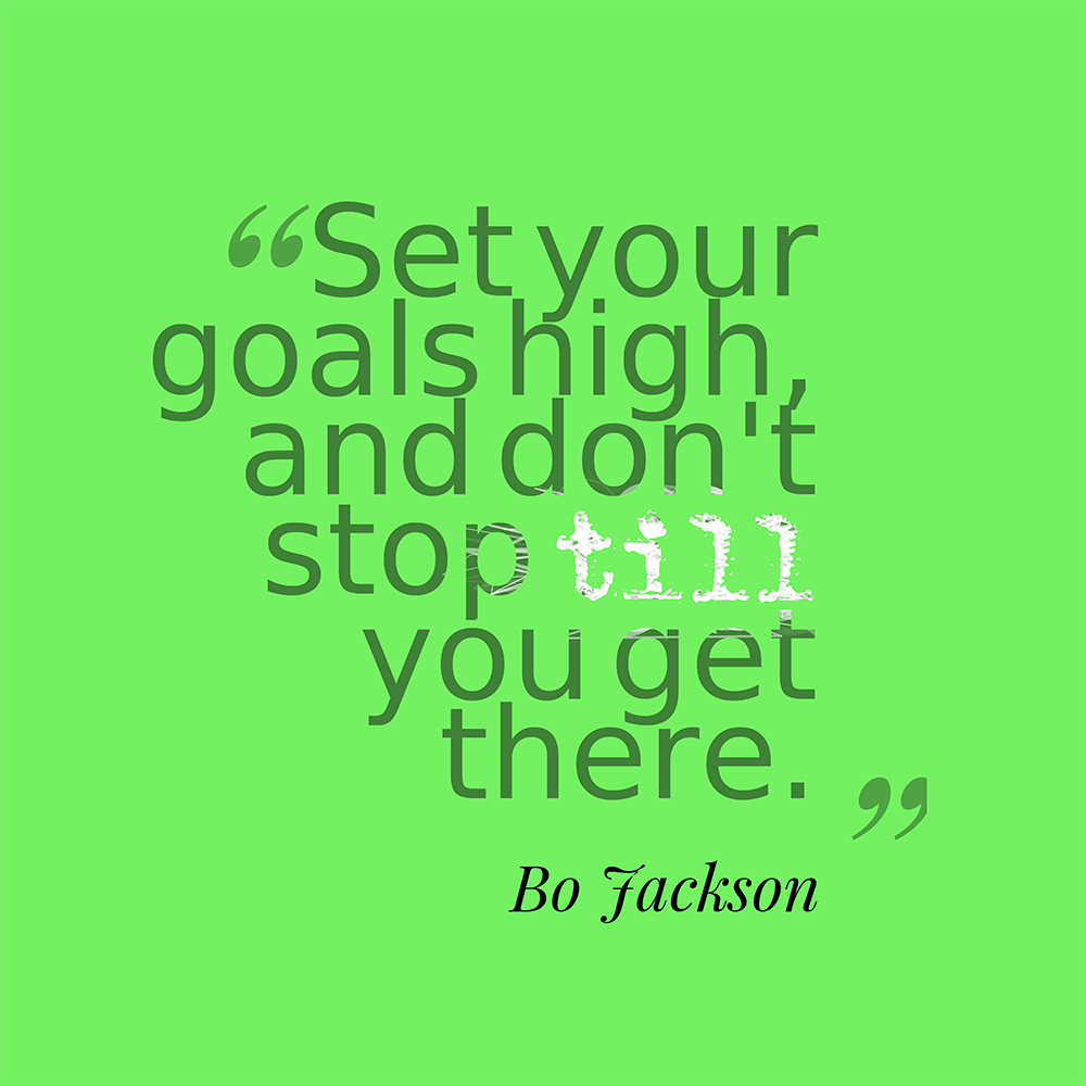 Bo knows ‪#‎goals‬ ‪#‎bojackson‬ ‪#‎quotes‬ ‪#‎floridabusinessconsulting‬